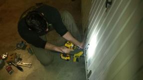 Porte de garage réparation