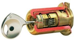 de cylindre et boitier FICHET de porte blindée