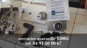 SERRURIER ET SERRURERIE MARSEILLE 13005