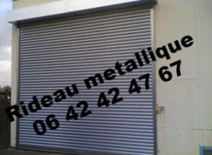 Remplacement de rideaux métallique